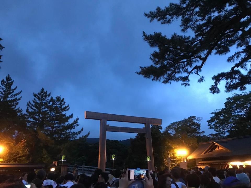 6月30日「伊勢神宮お礼参り(夜間参拝)」